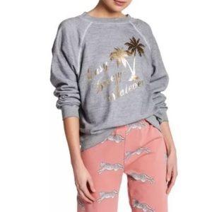 NWOT Wildfox Easy Breezy Whatever sweater sz XS